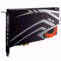 Placa Sonido Asus Strix Soar 7.1 Para Pc Pcie 116 Db Gamers