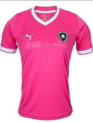 Camisa Do Botafogo Feminina Rosa (personalizada) - R  75 ecbab60369d0e