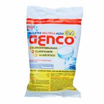 Pastilha Genco De Cloro 3 Em 1 - 200 Gramas