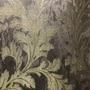12035 - Folhagem (Marrom/ Dourado/ Detalhes com Glitter)