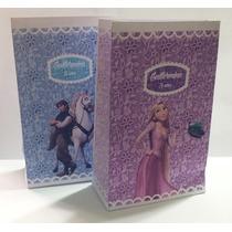 Bolsitas Golosineras Rapunzel X 10 Personalizadas Papel 150g