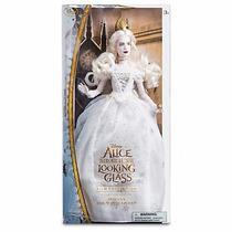 Alicia Através Del Espejo Muñeca Reina Blanca Disney Store