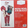 Enfeite Natalino Papai Noel Grande Musical Animado C/ 1,80m