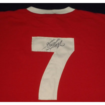 Jersey Autografiado Firmado Kevin Keegan Liverpool Fc Retro