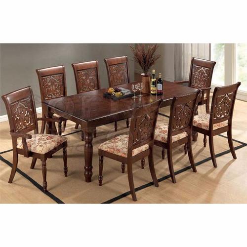 Juego de comedor de 8 sillas en madera maciza - Sillas de comedor economicas ...