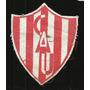 * Futbol Antiguo Escudo En Tela Club Atletico Union 8x7
