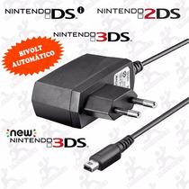 Carregador Bivolt Automático Nintendo Dsi, 2ds, 3ds, New 3ds