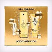 Kit Paco Rabanne One Million 100ml + Miniatura + Gel Banho