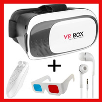 Lentes Realidad Virtual 3d Vr Box 3.0 + Control + Regalos