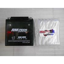 Bateria De Acido Rm-tech Ytx30l-bs 12v 30ah Motocicletas