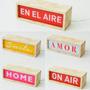 Lámpara Rectangular Caja Luz Varios Diseños Frases - Chica