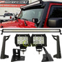 Kit Off Road Jeep Wrangler Jk 2007-2015 Barra Led 52