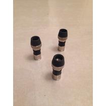 Conectores Rg6 De Compresión Para Cable Coaxial Rg6
