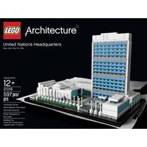 Lego Architecture United Nations Headquarters 21018 Nyc Un
