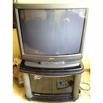 Tv Sony Trinitron 32 Pulgadas Con Mesa