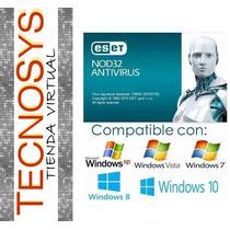Eset Nod32 Antivirus V8 - Licencia 3 Años X 5 Pc