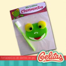 Sapo Pepe. Souvenir Cumpleaños Sin Cepillo Dental