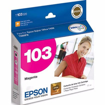 Cartucho T103320 Magenta Epson Stylus 103 T40w Tx515fn