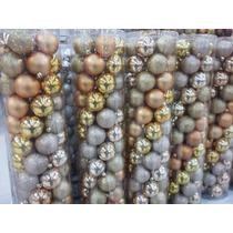 60 Esferas Navideñas Varios Colores