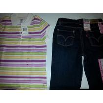Chemise Tommy Hilfiger Original Talla 6-7, Pantalon Levis 6x