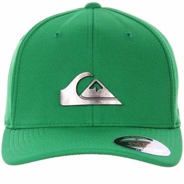 1430b71ccbe0b Boné Quiksilver Metal Flex Fit Verde + Frete Gratis !! - R  69