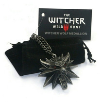 The Witcher 3 Collar Jinx Original Envio Gratis Medallon Dij