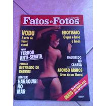 Revista Fatos E Fotos Rolling Stones Leila Diniz Zé Ramalho