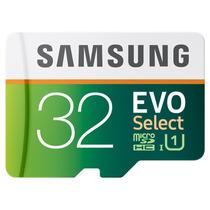 Samsung Evo Select 80mb/s, 32gb Memoria Micro Sd Microsd