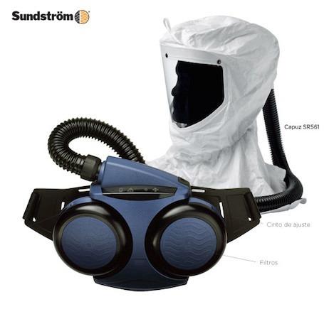 7ab966400f5cf Proteção Respiratória P Cabine De Pintura Respirador - R  5.990