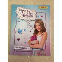 Álbum De Figurinhas Disney Violetta Completo Panini