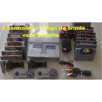 Super Nintendo Original, Snes+ 1 Jogo E Garantia-loja