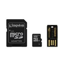 Kingston Multi Lector G2 Clase 10 Kit Microsd 16gb Con 3 Ada