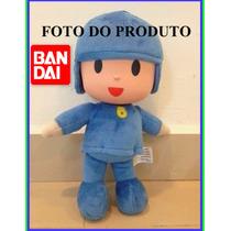 Boneco Pocoyo Grande 27cm Original Bandai Pronta Entrega