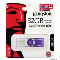 Pen Drive 32gb Kingston Dt101 G2 Pendrive 32 Gb Original