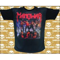 Camisetas Bandas - Rock Bandalheira Subl. Manowar 2719