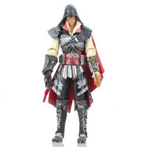 Nova Figura De Ação Assassins Creed 2 Ezio Master Assassin