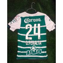 Jersey Santos Laguna 2014-2015 Peralta Libertadores