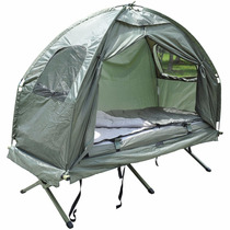 Cama Portatil Colchon Con Casa De Campaña Camping Acampar