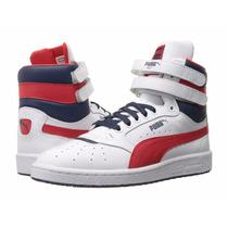 Tenis Bota Puma Sky Ii Hi Fg Zapatillas Originales Zapato