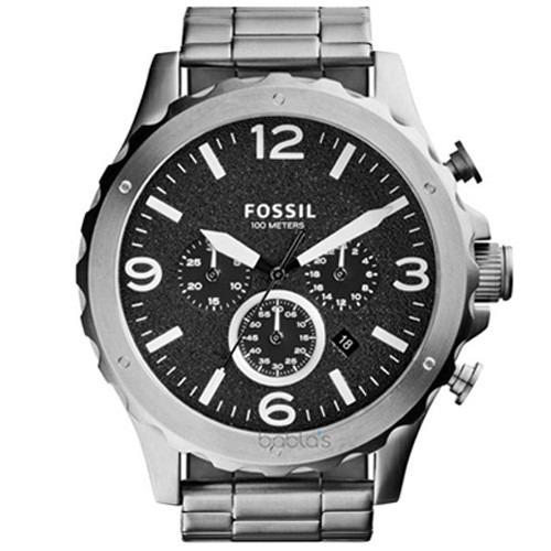e13fd458fe9a8 Relógio Fossil Nate Cronógrafo Fjr1353 z - R  749,90 em Mercado Livre