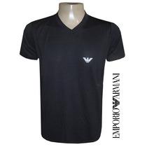 Camiseta Emporio Armani (gola V | Elastano)
