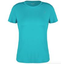 Camiseta Proteção Solar Uv Solo 50+ Fem Azul Pp