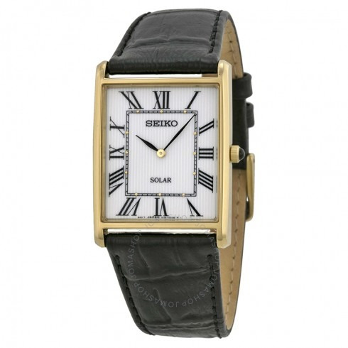 b27906980d4 Relógio Seiko Solar White Dial De Couro Preto-sup880 - R  1.200