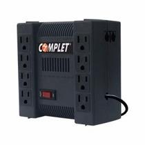 Regulador Complet 1300va 8 Contactos Negro Erv--9-001
