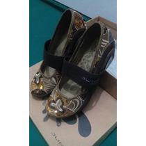 Zapatos Jump Casuales Marrones/beige,nuevos 36 Horma Pequeña