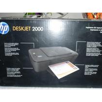 Impresora Hp Modelo Deskjet 2000