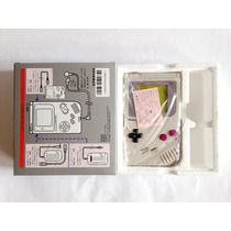 Game Boy Classic Dmg-01 Japonês Caixa Isopor Nº Série Manual