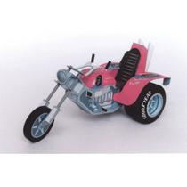 Moto Triciclo (modelo Para Armar En Papel)