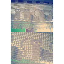 Cortina A Crochet Artesanal