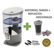 Purificador Filtro Pimag Waterfall Nikken+paquete Repuestos!